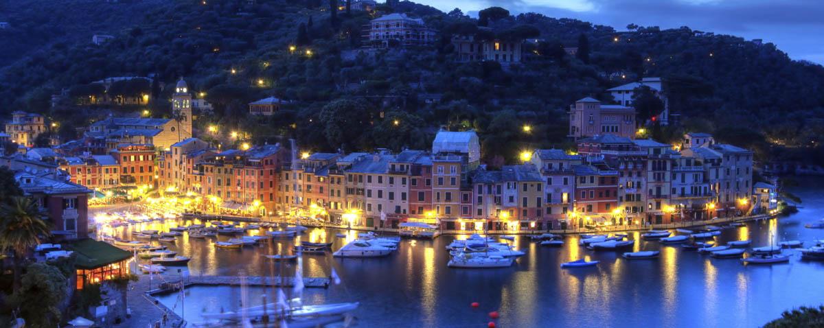 Portofino sunset, Italy