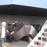 Besuch der Schiffswerft MCP
