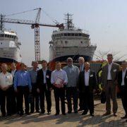 Besuch von Schiffswerften