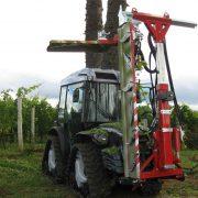 Maschinenpark-Auslieferung für die Vinicola Perico in Santa Catarina /Brasilien
