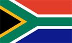 Flagge Südafrika